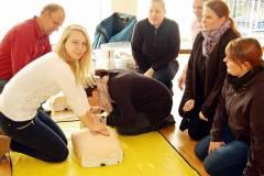 Trainerinnen Erste-Hilfe Kurs 22.11.2014